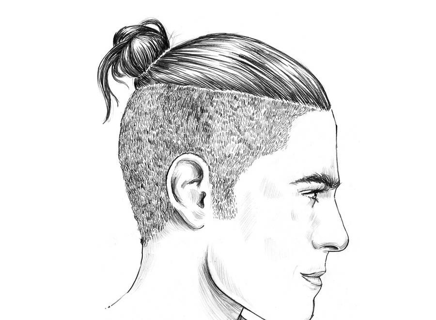 Lange männer stylen haare undercut Als Mann